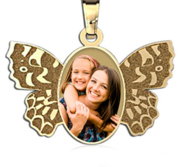 NEW  Butterfly Picture Pendant
