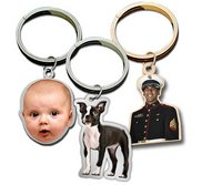 Photo Engraved Outlined Key Chain