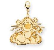 Disney Tigger Lobster Clasp Charm